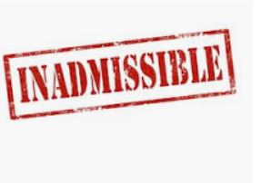 INADMISSIBLE :CAPC des ATMD 18 juin 2020