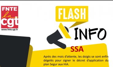 FNTE Flash info SSA